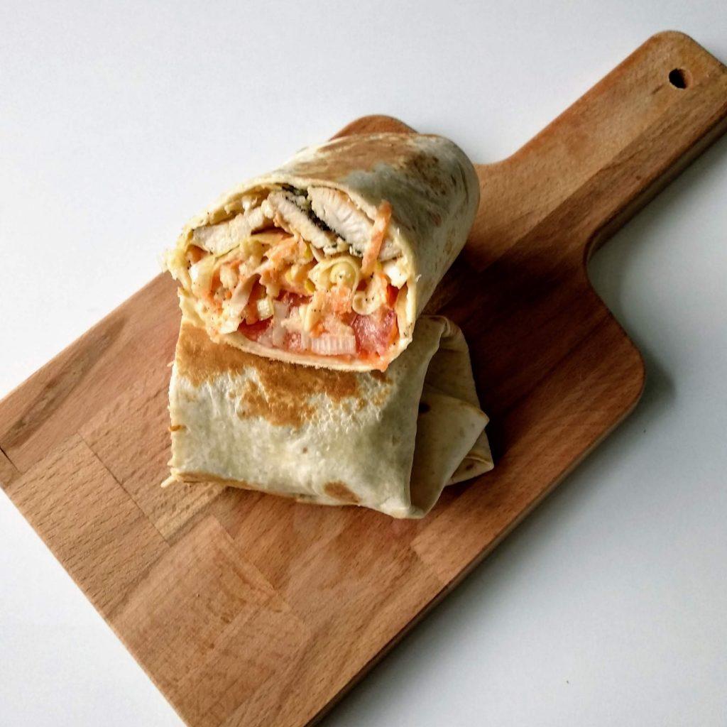 Zdjęcie nr 1 - Zawijane tortille z porem