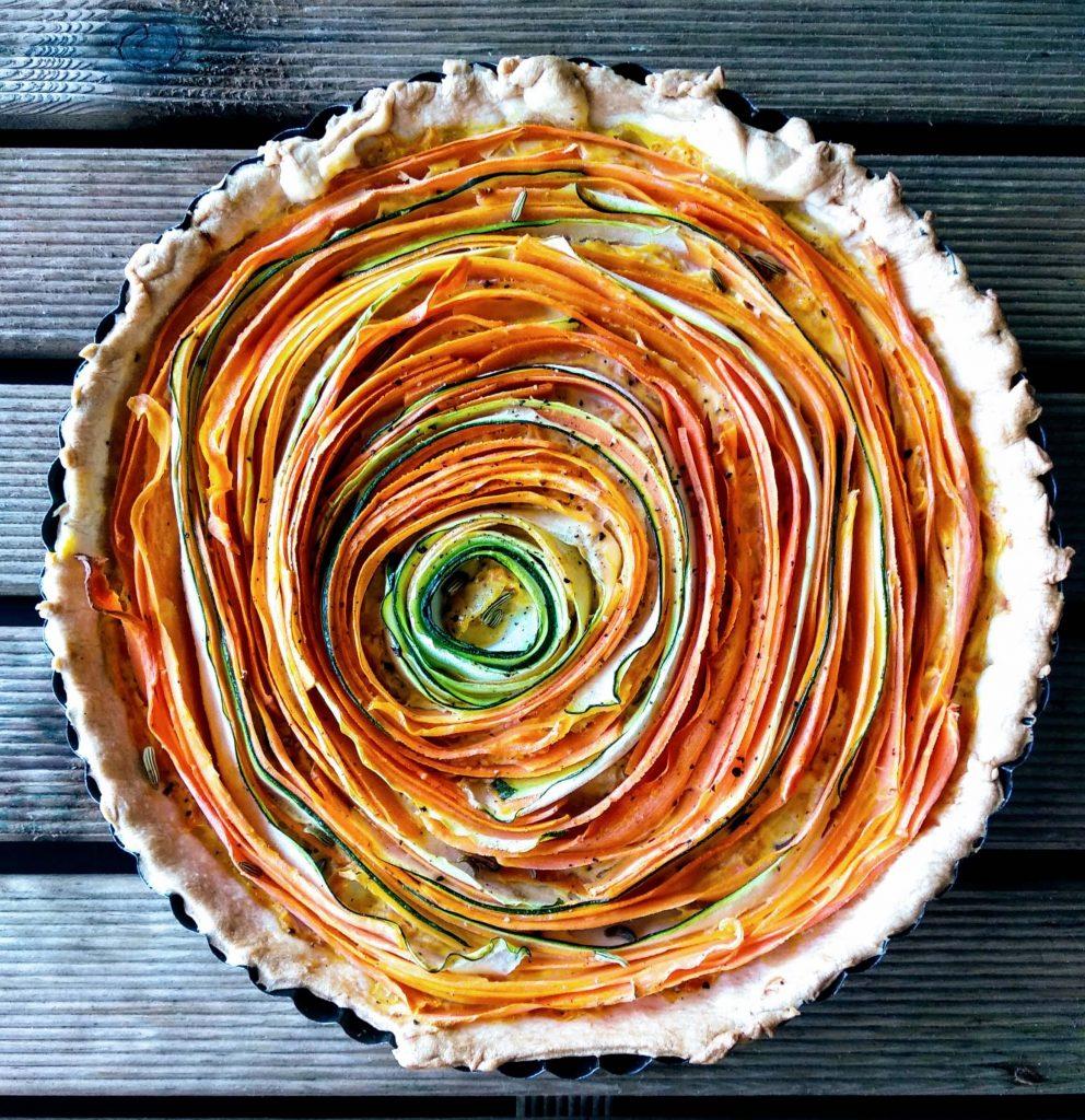 Zdjęcie nr 1 - Tarta z marchewką i cukinią