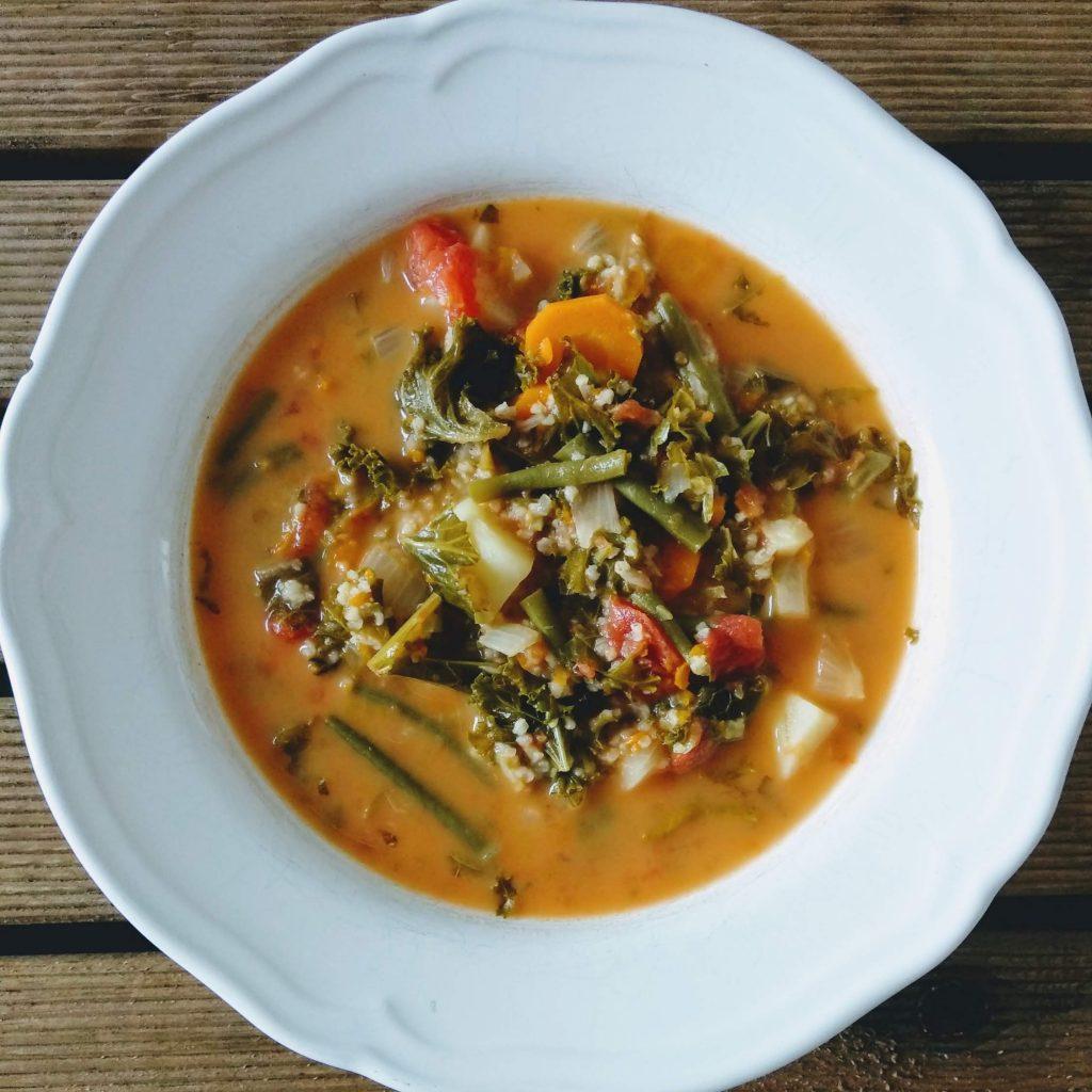 zupa, fasolka szparagowa, pomysł na zupę, pomysł na obiad
