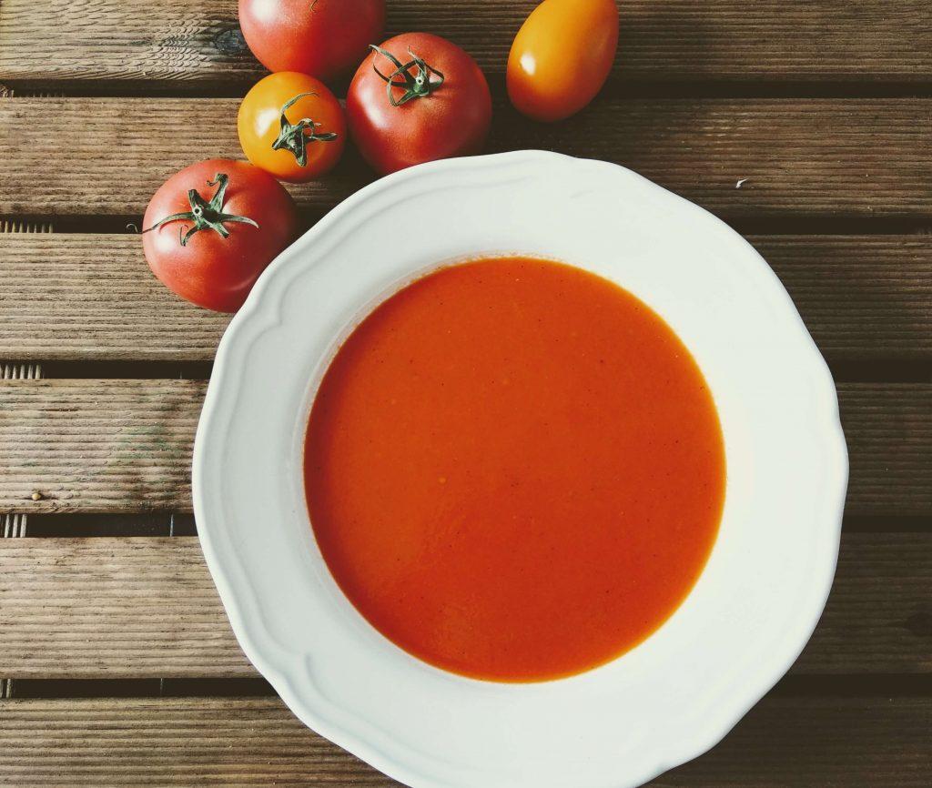 Zdjęcie nr 2 - Krem z pieczonych pomidorów i papryki